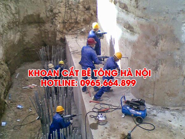Dịch vụ Khoan cắt bê tông tại Hà Nội